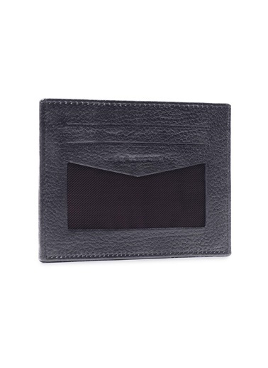 Deri Company Kartlık Siyah
